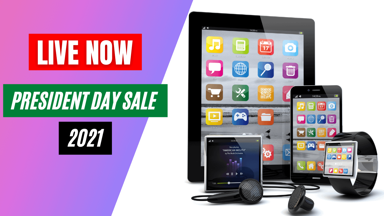 President Day Sale 2021- Save hundreds of dollar on your favorite products - The Gadget Diary